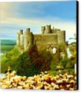 Harlech Castle Canvas Print