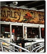 Harley Beach Bar Canvas Print by Jasna Buncic
