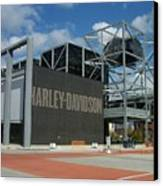 Harley Museum  Canvas Print