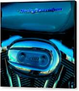 Harley Sportster 1200 Canvas Print by David Patterson