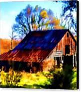 Harrison Barn Canvas Print
