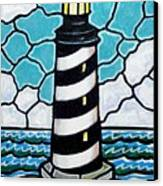 Hatteras Island Lighthouse Canvas Print