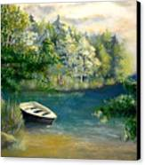 Hatzec Lake Canvas Print