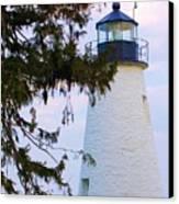 Havre De Grace Lighthouse Canvas Print