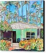 Hawaiian Cottage I Canvas Print