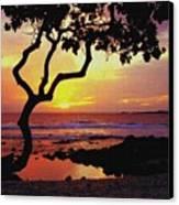 Hawaiian Sunset Canvas Print
