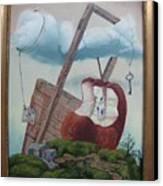 Hay Puertas Que No Se Cierran Canvas Print by Carlos Rodriguez Yorde