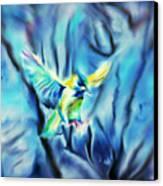 Hazy Dreams Canvas Print by Karunita Kapoor