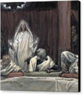 He Appeared To The Eleven Canvas Print by Tissot