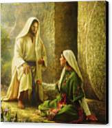 He Is Risen Canvas Print by Greg Olsen