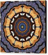 Healing Mandala 16 Canvas Print by Bell And Todd