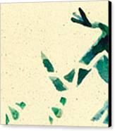 Hear The Lizard Canvas Print by Annie Alexander