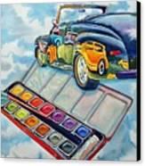 Heavenly Hotrod Canvas Print