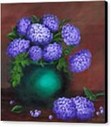Heavenly Hydrangeas Canvas Print