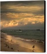 Heavenly  World  Canvas Print by Kim Loftis