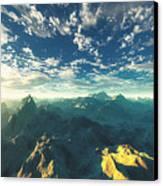 Heavens Breath 16 Canvas Print