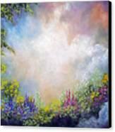 Heaven's Garden Canvas Print by Marina Petro