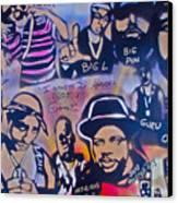 Heavens Ghetto Canvas Print by Tony B Conscious