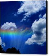 Heavens Rainbow Canvas Print