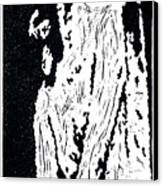 Heavenward --  Hand-pulled  Linoleum Cut Canvas Print