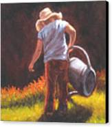 Heavy Watering Can... Canvas Print