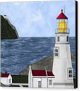 Heceta Head Oregon Canvas Print