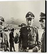 Heindrich Himmler Leftand Heydrich Canvas Print by Everett