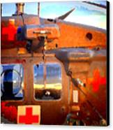 Helicopter Canvas Print
