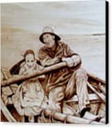 Helping Hands Canvas Print by Jo Schwartz