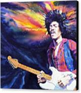 Hendrix Canvas Print by Ken Meyer jr