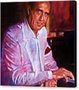 Henry Mancini Canvas Print by David Lloyd Glover