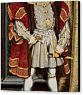 Henry Viii Canvas Print by Hans Holbein the Younger