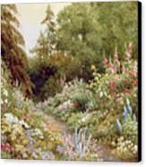 Herbaceous Border  Canvas Print