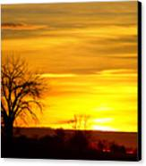 Here Comes The Sunrise Canvas Print by James BO  Insogna
