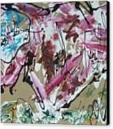 Hi Speed Bison Canvas Print