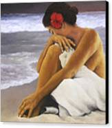 Hibiscus Dreaming Canvas Print