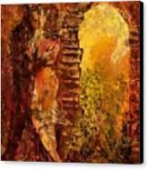 Hidden Kiss Canvas Print