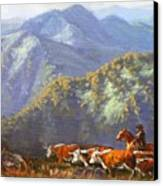 High Country Muster Canvas Print