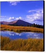 High Country Pond Canvas Print