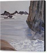 High Tide At Seal Rock Canvas Print