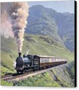 Highland Steam Canvas Print