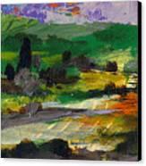 Hillside Pastures Canvas Print