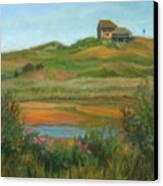 Hilltop Houses Cape Cod Canvas Print