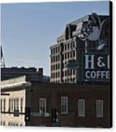 Historic Landmark Signs Roanoke Virginia Canvas Print