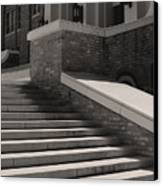 Historic Steps Little Rock Central High School Canvas Print by Brian M Lumley