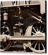 Historic Trains Canvas Print