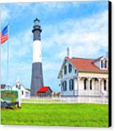 Historic Tybee Island Light Station Canvas Print