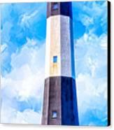 Historic Tybee Island Lighthouse Canvas Print