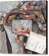 Hitch Lock Canvas Print