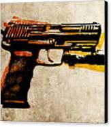Hk 45 Pistol Canvas Print by Michael Tompsett